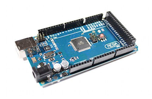 Paradisetronic.com Placa Mega 2560 R3 con ATmega2560, ATmega16U2, 100{c97d22c3fcb8861e5848f01ae160234fa8ee193dc94b8154a9b9ee8990fa1469} compatible con Arduino