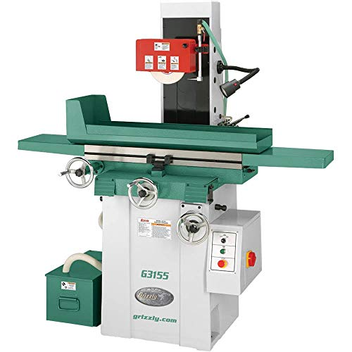 Check Out This Grizzly Industrial G3155-8 x 20 Surface Grinder