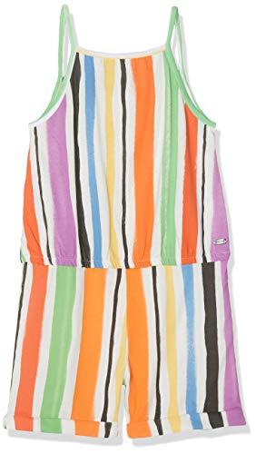 Mexx Mädchen Overall, Mehrfarbig (Multicolor Striped 318213), (Herstellergröße: 110)