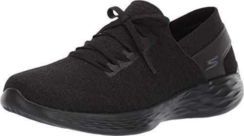 Skechers You- Emotion Sneaker, Black, 10.5 M US
