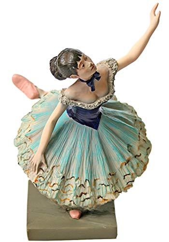Verde bailarina escultura 1880por Degas