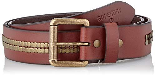 Superdry Bronson Leather Belt Cinturón para Hombre
