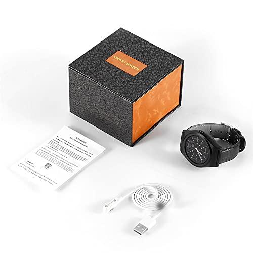 YLXAJKJGS-XCH Smartwatch 1.3in Pantalla táctil Resistente al Agua con Ranura para Tarjeta SIM Monitores de sueño Monitores de frecuencia cardíaca y podómetro