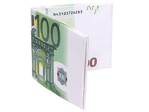 Alsino - Cartera para mujer 100 Euro Schein Börse 01