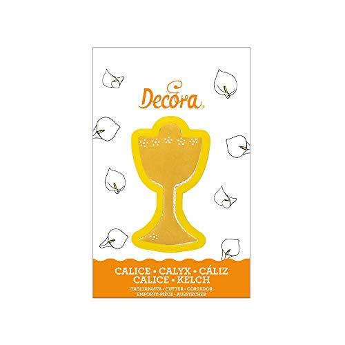 Decora 0803039 Tagliapasta Calice 10,5 X H 2,2 Cm