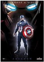 Captain America Civil War (Team Cap) MightyPrint Wall Art Next Generation Premium Poster