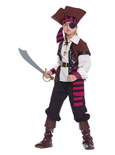 Guirca Disfraz de Corsaro Pirata de los siete mares – Niño 5 – 6 años