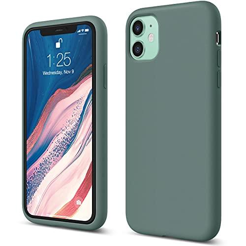 """Elago Silicone Liquido Custodia Cover Compatibile con iPhone 11 Case (6.1""""), Silicone Liquido Premium, Protezione Full Body : Case Antiurto 3 Strati"""