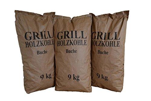 Krok Wood Grillholzkohle Holzkohle Buche (27kg)