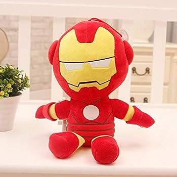 Iron Man Plush Toys for Kids 10  Inch Superhero Stuffed Plushie Dolls Gift for Boys Children