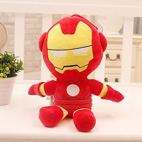 A9TEN Iron Man Plush Toys for Kids, 10' Inch Superhero Stuffed Plushie Dolls Gift for Boys Children
