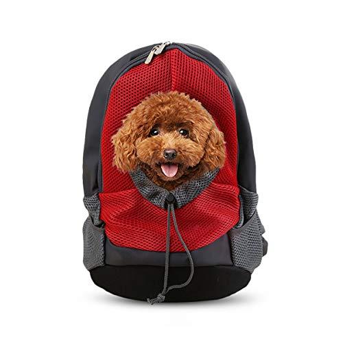 PETCUTE Zaini per Cani Borsa Trasportino Cane Marsupio per Cani Trasportino Zaino da Viaggio per Animali Domestici