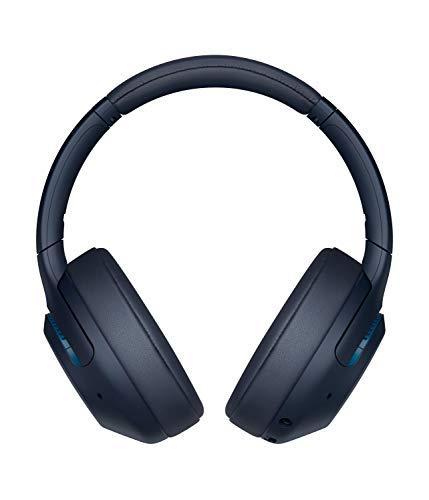 Sony WH XB900N Auriculares Inalámbricos Noise Cancelling (Bluetooth, Extra Bass, 30h de batería, Carga Rápida, Óptimo para trabajar, Micro para