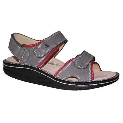 FinnComfort Damen Sandaletten Yuma 01561901211 grau 438330