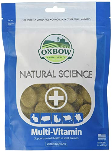 Oxbow Multi-Vitamin 120g integratore vitamine essenziali per roditori