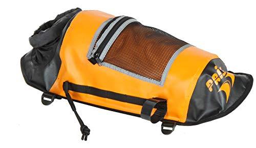 Prijon Deckmaster M wasserdichte Decktasche mit Paddlefloat-Funktion Trockentasche, Farbe:Orange