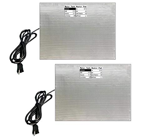 RV Holding Tank Heater Pad Use with Up to 50 Gallons Fresh Water 120V 12' x 18' Holding Tank Heating...