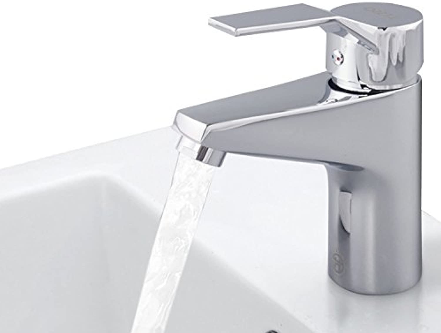 Hlluya Professional Sink Mixer Tap Kitchen Faucet The basins of hot and cold lever style brass single hole Single Handle Faucet