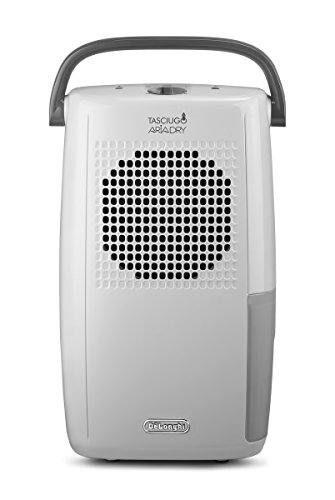 De'Longhi tasciugo AriaDry Luftentfeuchter DX10. WGY trocknende (Zimmer 50m2, Funktion, Filter antistaubsystem, Dual System Drain)