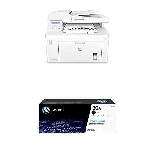 HP LaserJet Pro M227sdn - Impresora láser multifunción (800 MHz velocidad del procesador, AirPrint 1.5, USB 2.0, ethernet 10/100Base-TX) color blanco + Toner CF230A