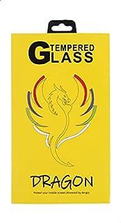 شاشة حماية لاصقة زجاج مضادة لبصمات الاصابع لموبايل وان بلس 7 من دراجون - شفافة