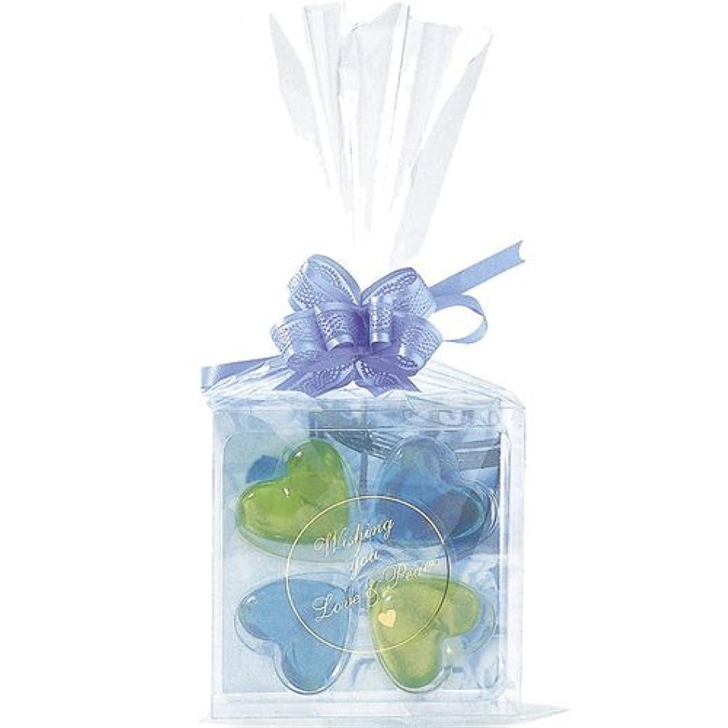 コンデンサー銀行アルバニージーピークリエイツ フォーチューンクローバー ブルー 入浴料セット(グリーンアップル、ベリー)