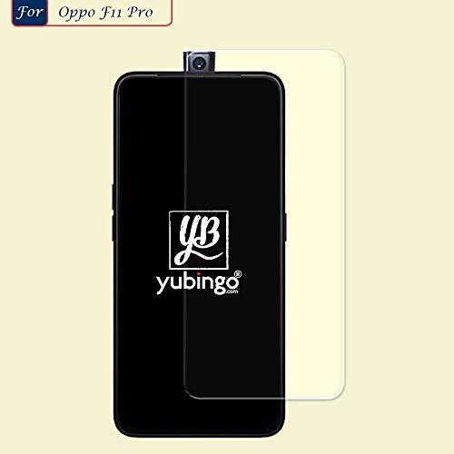 YuBingo Screen Guard for Oppo F11 Pro (Flexible. Shatter & Scratch Resistant, HD Clarity, Case Friendly)