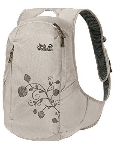 Jack Wolfskin Ancona, komfortabler Tagesrucksack für Frauen, Damen Rucksack mit schlankem Schnitt, praktischer Backpack extra für Frauen