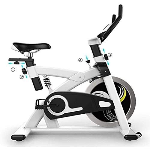 SAFGH Bicicleta giratoria Bicicleta de Ejercicio para el hogar Bicicleta silenciosa Gimnasio Profesional Ejercicio Rebote Absorción de Golpes Soporte de Carga 125 KG