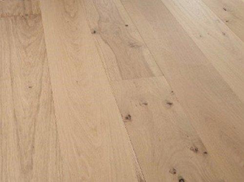 woodstore Handel Società woodo Wiek-papq1525058Parquet europea. Rovere 15X 250X 1800mm, grezzo Look, estremamente laccato opaco, spazzolato (2,25m²/pacchetto), Marrone, Taglia unica