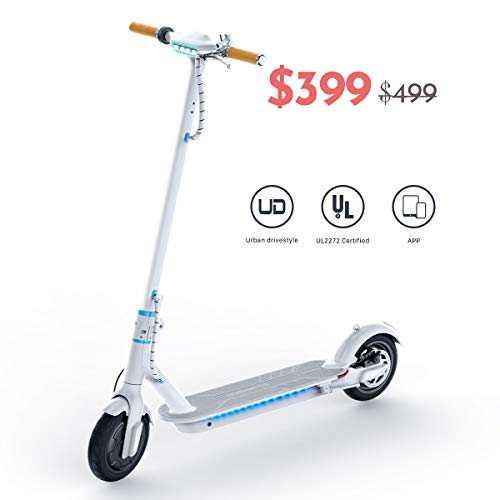 TOMOLOO Electric Scooter for Adults, 8.5' Air...