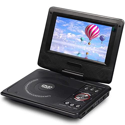 DVD Player 7.5 Inch with Screen Inbuilt USB, SD/MMC, Port Dolby Digital, av/tv Support