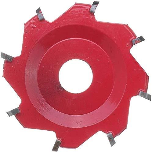 Angulo amoladora disco cadena de carpintería de la cadena de carpintería talla de madera disco octagonal dodecagonal herramientas de potencia giratoria cuchilla pala 100mm para herramienta de corte de