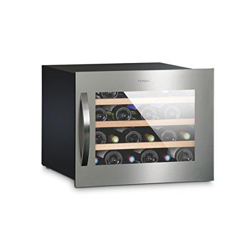 Dometic MaCave S24G, Wein-Kühlschrank für 24 Flaschen, Weintemperierschrank klein +5 °C bis +22 °C, Wein-Klimaschrank mit Glastür, leise (43db)