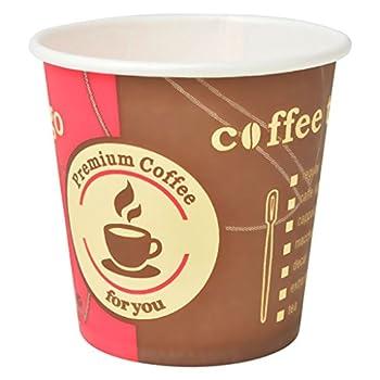 vidaXL Gobelets à Café Cappuccino Boissons Jetables Carton 1000 pcs 120 ML