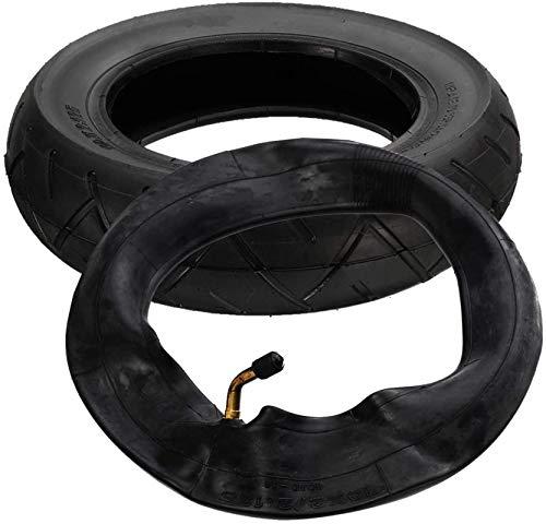 KUNYI 10'x 2.125' Neumático y Conjunto de Tubos internos Rueda de Scooter de Caucho Natural para Hoverboard Auto Equilibrio Piezas de Scooter eléctrico