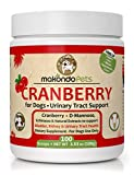 Dog Cranberry Supplement - Natural Dog UTI Treatment & Kidney Support for Dogs. Dog Supplement Powder Same as Cranberry Pills for Dogs. Puppy Supplies for Dog Pee Health - Dog Incontinence Product