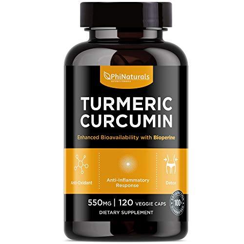 Curcumina de cúrcuma con Bioperine ® (extracto de pimienta negra)