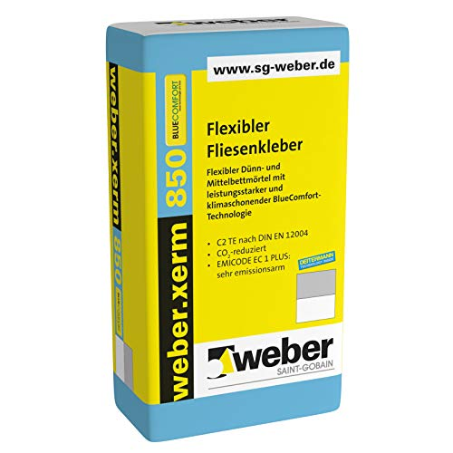 weber.xerm 850 flexibler Fliesenkleber 25kg
