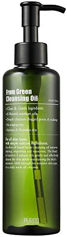 PURITO From Green Cleansing Oil 6 76 fl oz 200ml Makeup Remover Facial Cleanser light cleansing product image