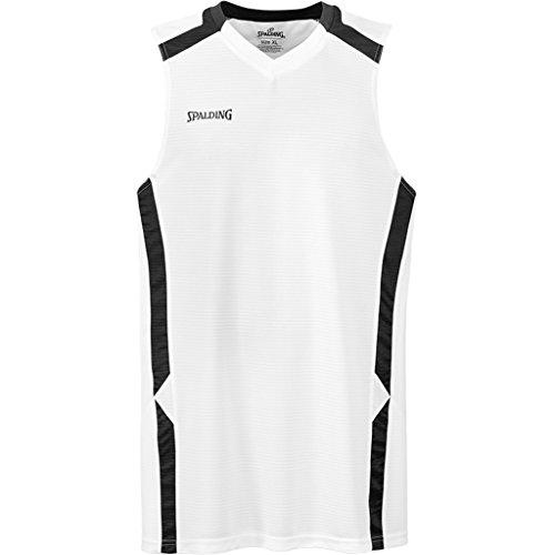Spalding Offense Tank Top Basketball Trikot weiß weiß/schwarz, XXXL