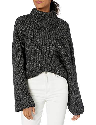 Turtle neck Crop length Fabric: 50% Merino, 50% Alpaca