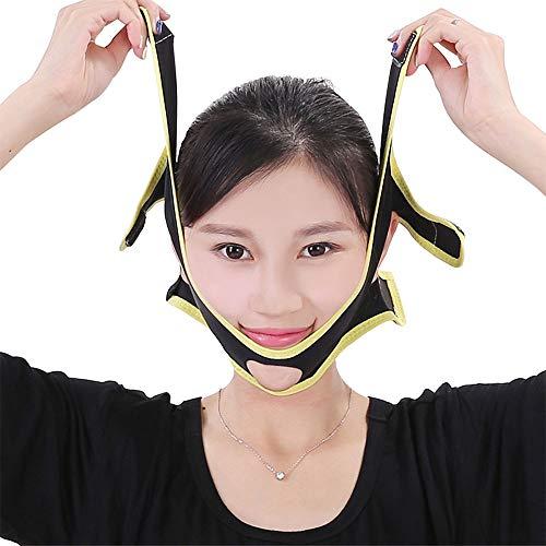 Visage Minceur Bracelet V Belt Line Chin Cheek Anti Rides Masque Ultra-Mince Bande-perméable À L'air Outils D'artefact Bandage Visage, Cadeau pour Mam