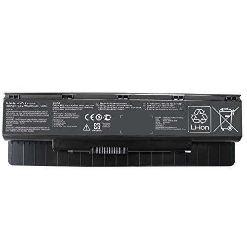 Shareway 5200mAh Replacement Laptop Battery for Asus N46 N46V N46VM N46VZ N46VJ N56 N56V N56VB N56VM N56VV N56VZ N56VJ N56vj-dh71 A31-N56 A32-N56 A33-N56-12 Months Warranty!