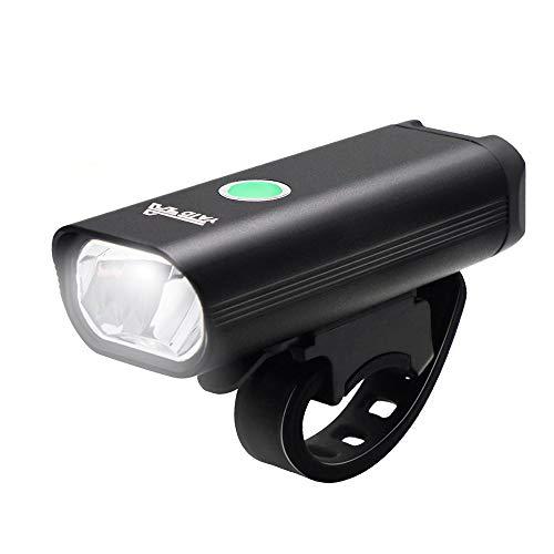 YATDA 自転車ライト USB充電式 LEDヘッドライト 高輝度 懐中電灯兼用 小型 停電対応 地震対策 登山 夜釣り ...