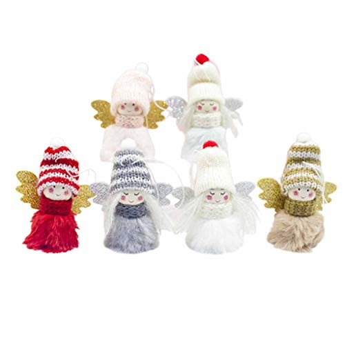 MinusK Decoraciones navideñas Colgante Encanto Navideño Etiquetas de Regalo Afortunadas para Árboles de Navidad...