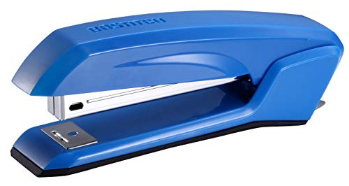 Bostitch Ascend 3 in 1 Stapler with Integrated Remover & Staple Storage, Blue (B210-BLUE)