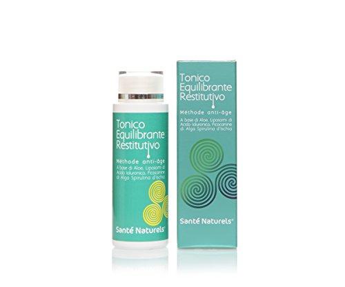 Tonico Equilibrante Restitutivo 125 ml Méthode Anti-âge - Con Acido Ialuronico in liposomi, Ficocianine Spirulina di Ischia, Aloe Gel