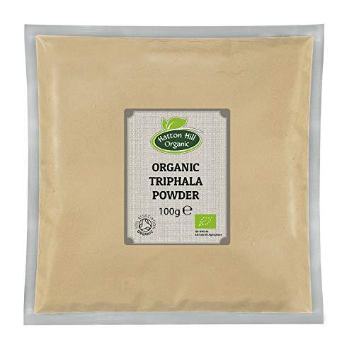 Hatton Hill Organic Triphala Powder 100g - Certified Organic
