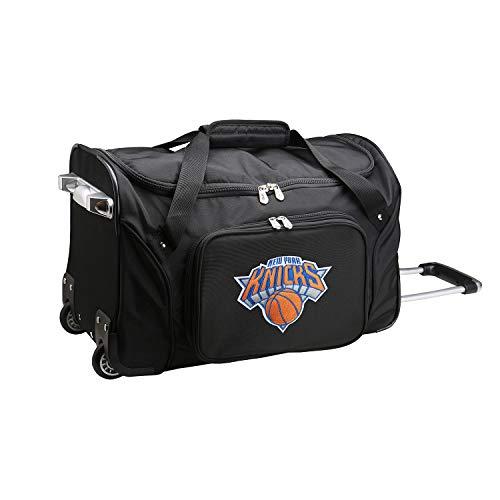 %59 OFF! NBA New York Knicks Wheeled Duffel Bag, 22-inches